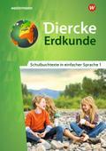 Diercke Erdkunde 1. Schulbuchtexte in einfacher Sprache mit CD-ROM. Differenzierende Ausgabe. Nordrhein-Westfalen