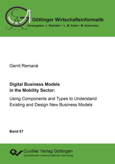 Digital Business Models in the Mobility Sector