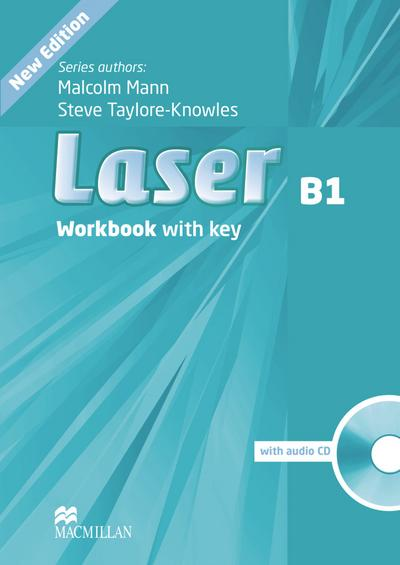 Laser B1 (3rd edition): Workbook with Audio-CD and Key