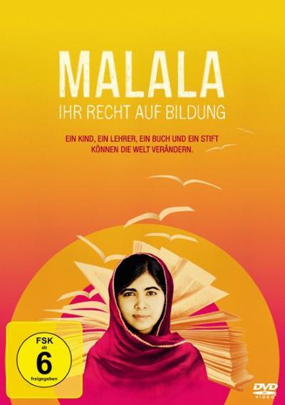 Malala - Ihr Recht auf Bildung - 20Th Century Fox - DVD, Englisch| Deutsch, Malala Yousafzai, Deutsch, Deutsch