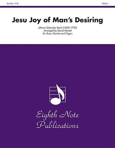 Jesu Joy of Man's Desiring: Score & Parts