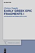 Early Greek Epic Fragments I