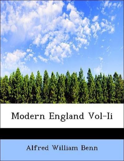 Modern England Vol-Ii