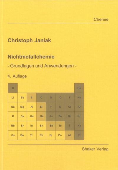 Nichtmetallchemie