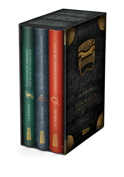 Die Hogwarts-Schulbücher im Schuber