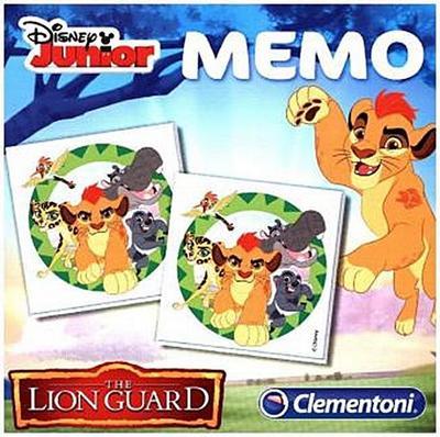 Clementoni 13955.2 - Memo Games Die Garde der Löwen, Spiel