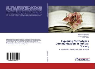 Exploring Stereotypes' Communication in Punjabi Society