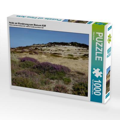 Heide am Wanderweg zum Morsum Kliff (Puzzle)