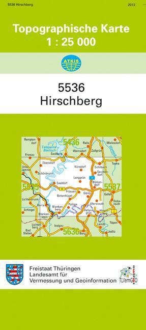 Hirschberg 1 : 25 000,