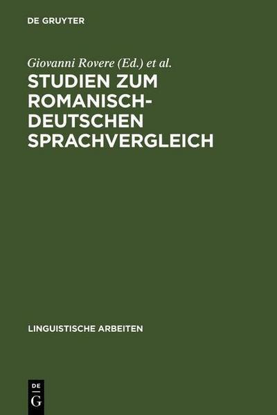 Studien zum romanisch-deutschen Sprachvergleich