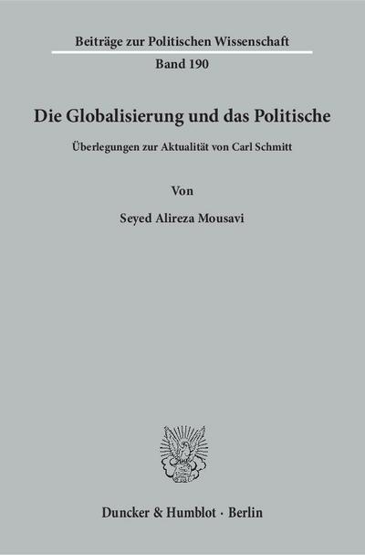 Die Globalisierung und das Politische