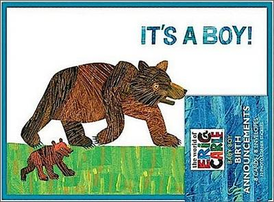 The World of Eric Carle(tm) It's a Boy! Birth Announcements