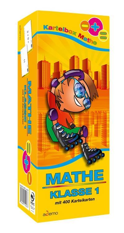Karteibox Mathe Klasse 1 - Ademo - Karten, Deutsch, ademo GmbH, ,