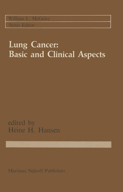 Lung Cancer: Basic and Clinical Aspects