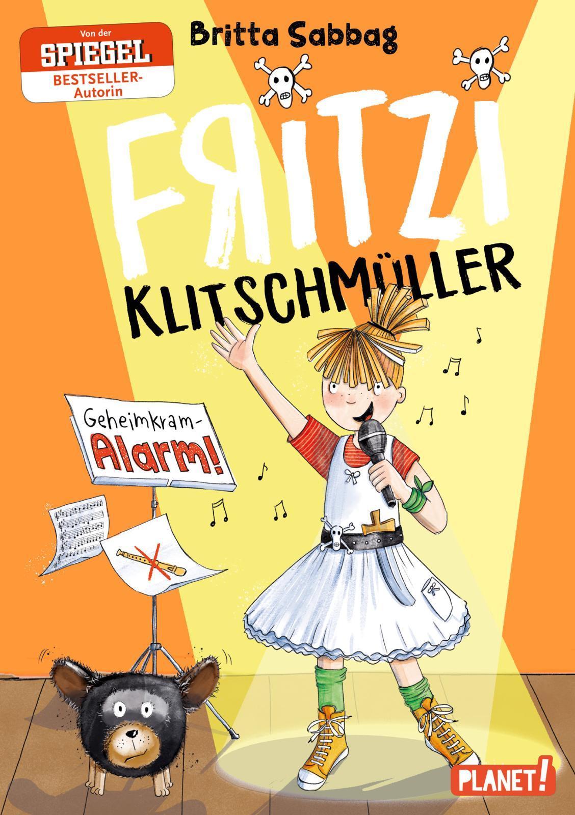 Fritzi Klitschmüller - Geheimkram-Alarm! Britta Sabbag 9783522505604