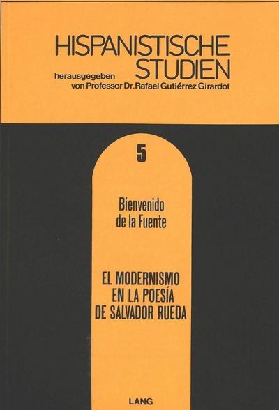 el modernismo en la Poesía de Salvador Rueda