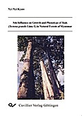 Site Influence on Growth and Phenotype of Teak (TEctona grandis Linn.f.) in Natural Forests of Myanmar