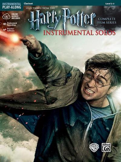 Harry Potter Instrumental Solos - Clarinet, w. MP3-CD