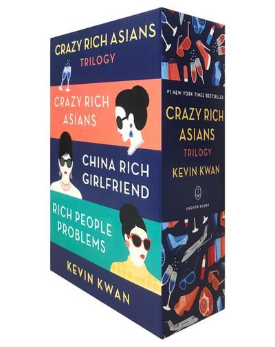 The Crazy Rich Asians Trilogy, 3 Vols.
