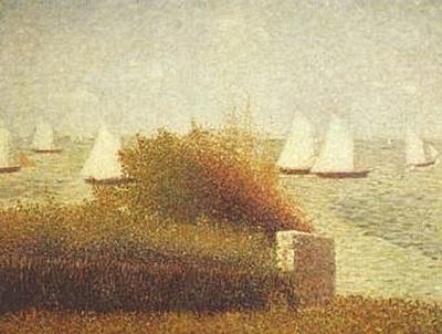 Georges Seurat - Die Rede von Grandcamp - 200 Teile (Puzzle)