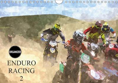 ENDURO RACING 2 (Wall Calendar 2019 DIN A4 Landscape)