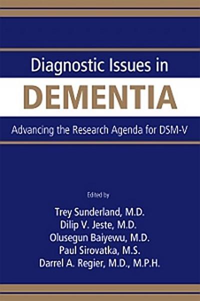 Diagnostic Issues in Dementia