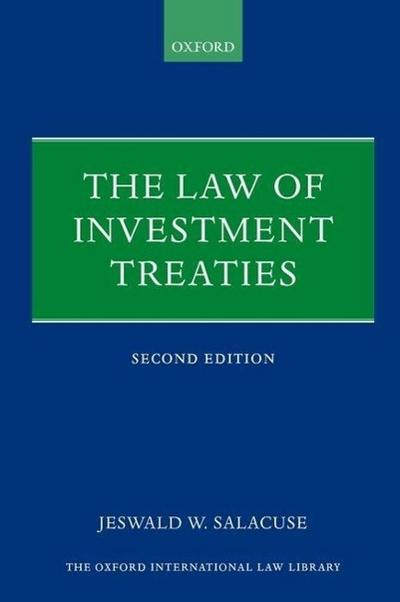 LAW OF INVESTMENT TREATIES REV