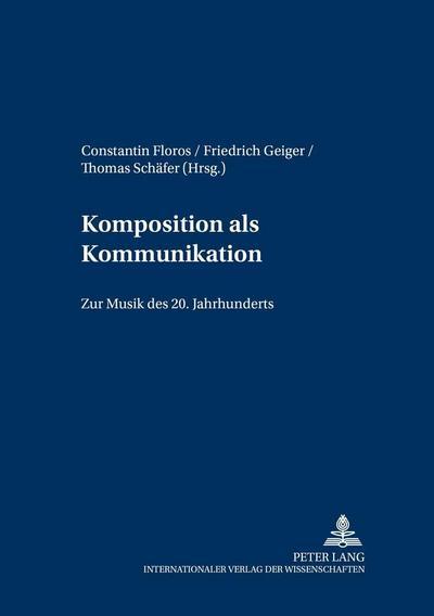 Komposition als Kommunikation