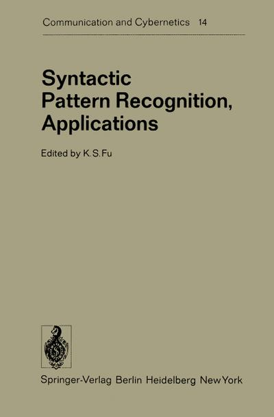 Syntactic Pattern Recognition, Applications
