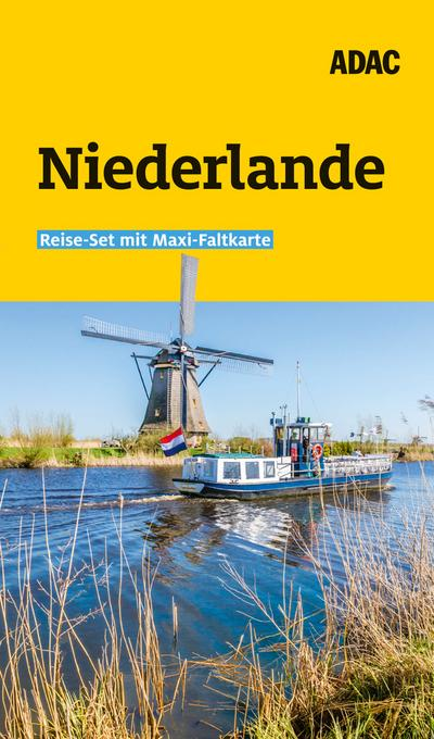 ADAC Reiseführer plus Niederlande: mit Maxi-Faltkarte zum Herausnehmen