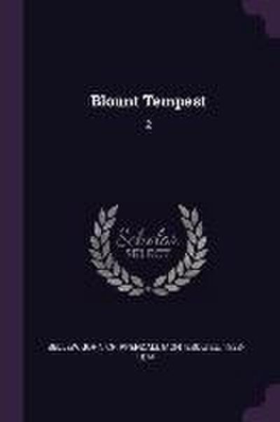 Blount Tempest: 2