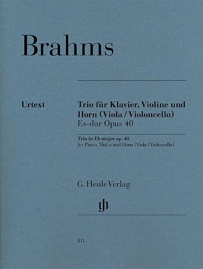 Trio für Klavier, Violine und Horn (Viola / Violoncello) Es-dur Opus 40