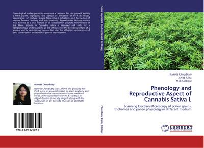 Phenology and Reproductive Aspect of Cannabis Sativa L