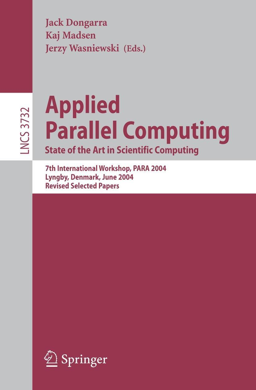 Applied Parallel Computing Jack Dongarra