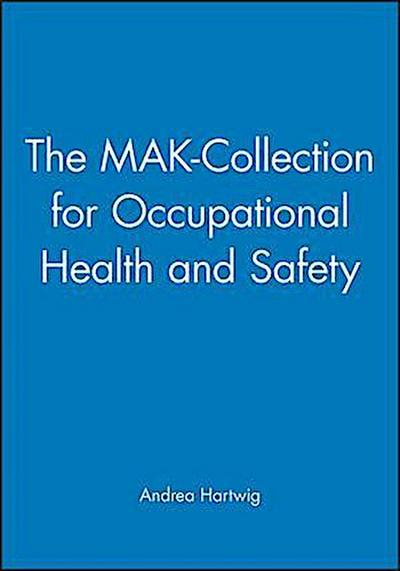 The MAK-Collection for Occupational Health and Safety