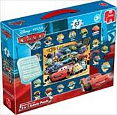 Disney Cars 2in1 Activity Puzzle - 35 + 18 Teile