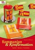 Kommunion & Konfirmation: Karten - Kerzen -Tischdeko