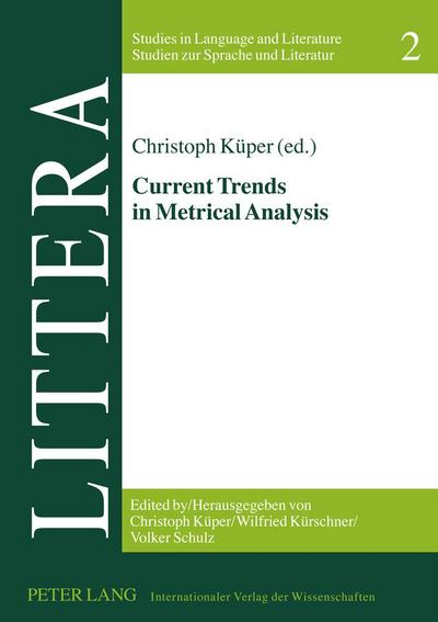 Current Trends in Metrical Analysis