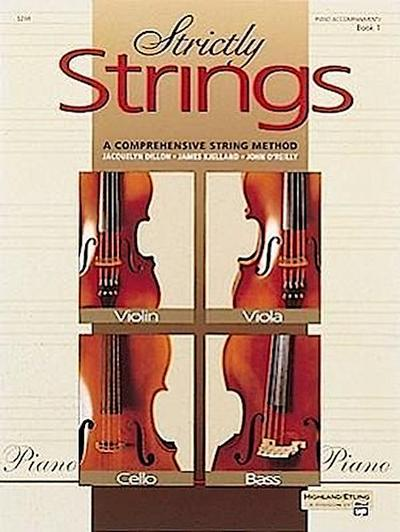 Strictly Strings, Bk 1: Piano Acc.