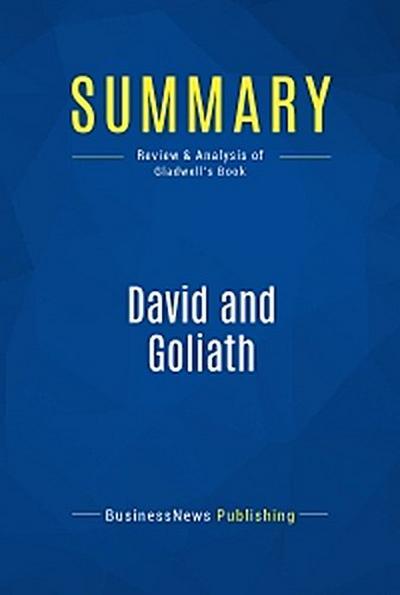 Summary: David and Goliath