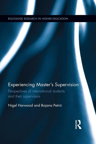 Experiencing Master's Supervision