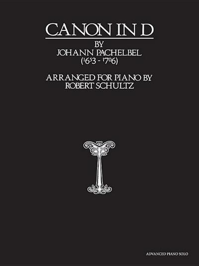 Canon in D: Advanced Piano Solo, Sheet