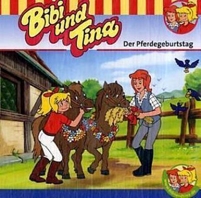 Bibi & Tina - Der Pferdegeburtstag, 1 Audio-CD