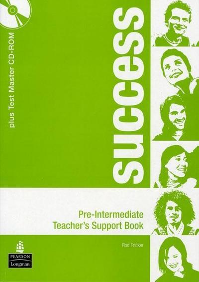 Success Pre-intermediate Teacher's Book Pack [Taschenbuch] by Fricker, Rod