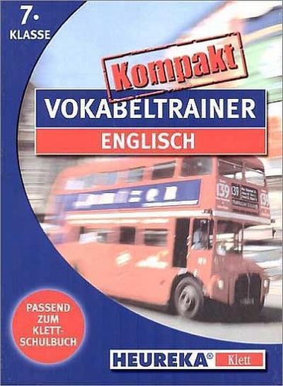 Kompakt Vokabeltrainer Englisch. 7. Klasse. New. CD-ROM für Windows ab 3.1