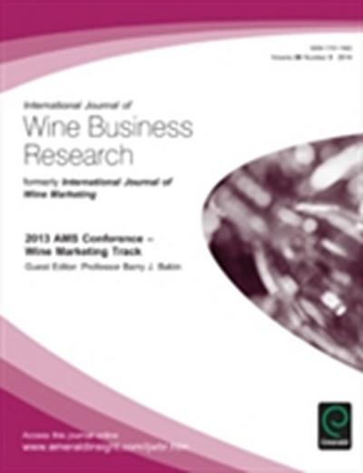 2013 AMS Conference - Wine Marketing Track