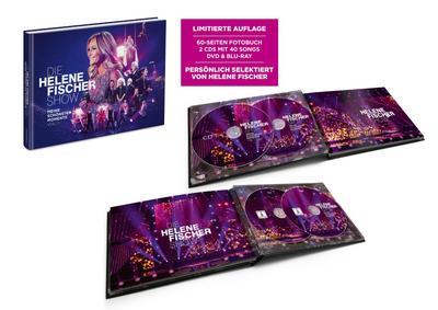 Helene Fischer Show - Meine schönsten Momente (Vol. 1). Ltd. 60-Seiten Fotobuch, 2-CDs, DVD, BluRay