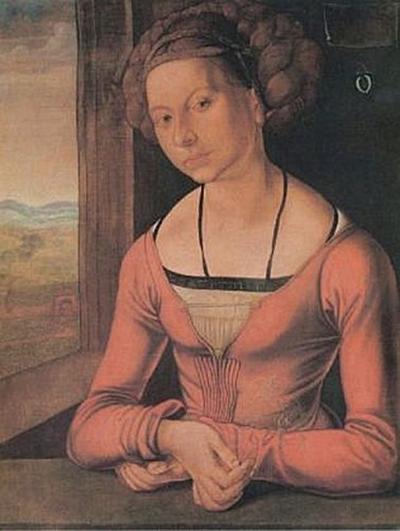 Albrecht Dürer - Die Fürlegerin mit geflochtenem Haar - 100 Teile (Puzzle)