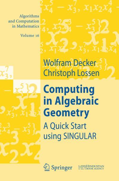Computing in Algebraic Geometry