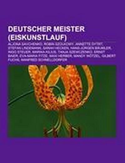 Deutscher Meister (Eiskunstlauf)